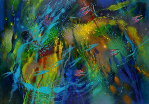 """2013 Magia-Memoria-Color Compuesta por 70 cuadros pintados desde 1992, en su mayoría óleos de grandes dimensiones, además de numerosas serigrafías, acuarelas y dibujos, la muestra hace """"alusión a las relaciones que las obras guardan con el pensamiento indígena ancestral de los Ingas del Putumayo, la etnia a la que pertenece el conocido pintor"""","""