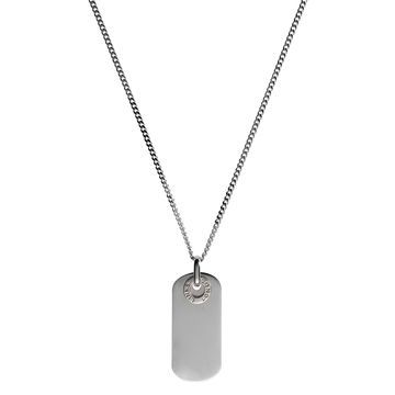 Men Necklaces, Mens Soho Dog Tag Pendant #LinksXmasWishlist