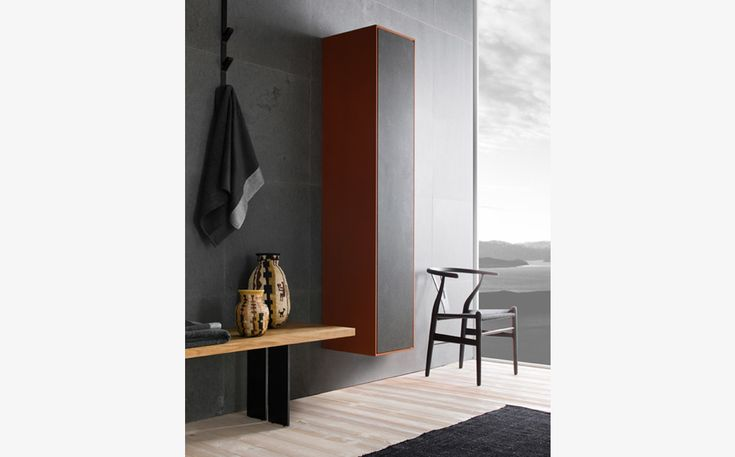 Wall-mounted furniture Neos by Luca Martorano: #furniture #consolle #interiordesign #marblefurniture #bathroom #wallmountedfurniture #bathroomfurniture #milanfurniture