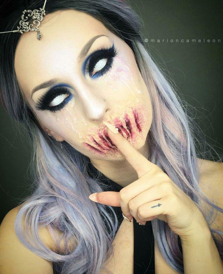 561 best Maquiagem de halloween images on Pinterest | Makeup ideas ...