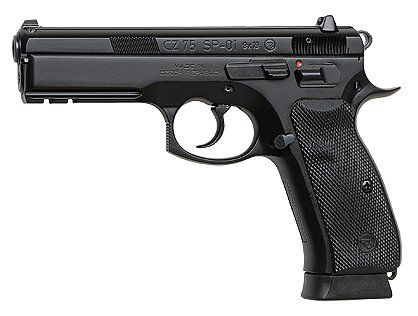 CZ CZ75 SP-01 9mm 19-round One of the best pistols in the world