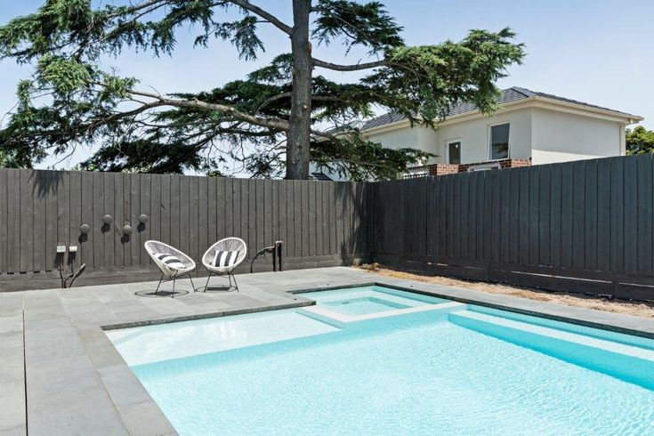 Photos Specifications Pool Designed By Momentum Pools Pool Dimensions 11 x 4.8m Spa 2.0 x 2.0 m, 3 sided seat, 6 x...  Read more »