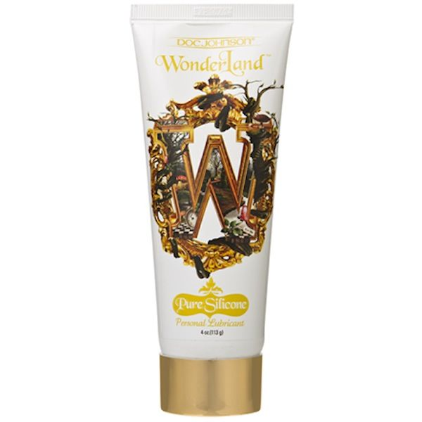 Wonderland Personal Lube – Pure Silicone for Sale  Size: 116ml     The Wonderland lubricant in Pure Silicone is a super slick lube that produces a glide that's smooth and long-lasting  The glycerin and paraben free formula is ideal for sensitive skin, especially when you're dealing with