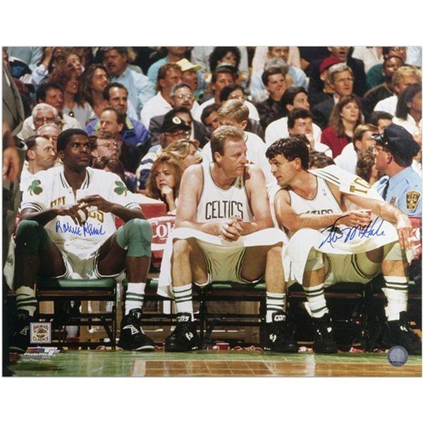 """Kevin McHale, Robert Parish Boston Celtics Fanatics Authentic Autographed 16"""" x 20"""" Bench Photograph - $142.99"""