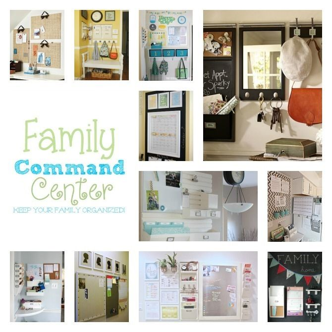 Family Command Center Roundup