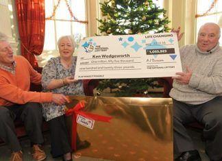 Retired army major from Derbyshire wins £1.000.000 Euromillions prize
