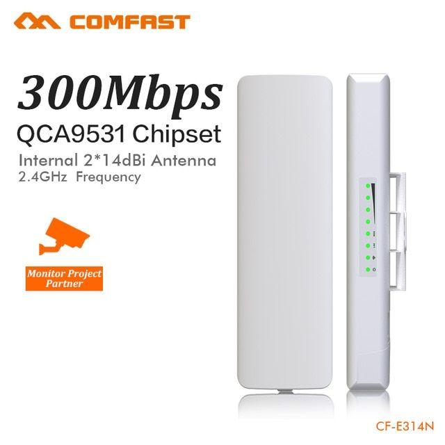 COMFAST CF-E314N Wireless bridge 3-5 km network monitoring