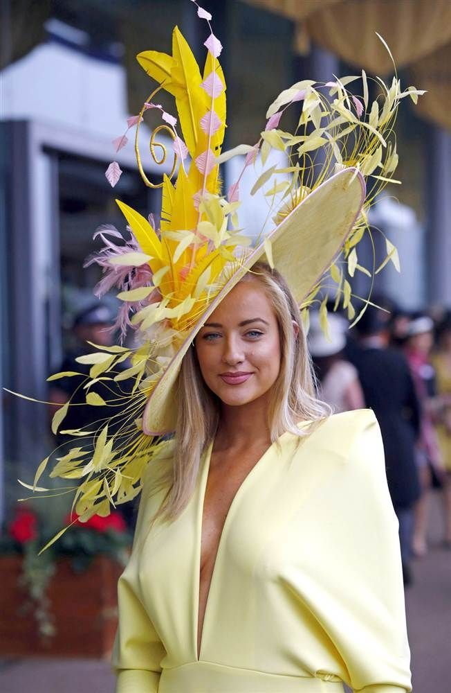 Inspiration for Aintree Ladies Day. Fashion, style and statement hats.