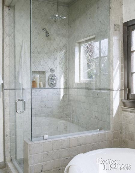 tile pattern | Residential Design: Bathrooms | Pinterest