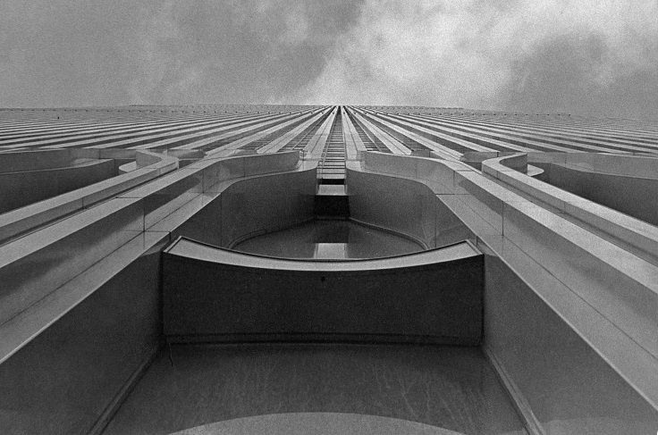 View of the World Trade Center, 1976 / Collection of the 9/11 Memorial Museum, Gift of John R. Tumino