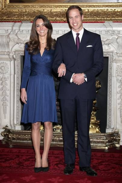 You can buy Kate Middleton's iconic engagement dress in House of Fraser