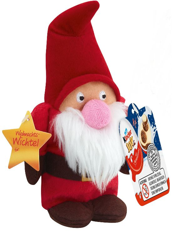 Kinder Joy Mini Santa #chocolate #xmas #gifts