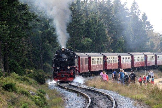 Wandern auf dem #Hexenstieg im #Harz http://www.breitengrad66.de/2016/10/01/wandern-auf-dem-harzer-hexenstieg/ #Reise #Deutschland #Ausflug #Brocken #Torfhaus #Goetheweg #Brockenbahn #Dampflok