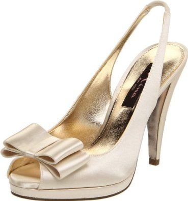 "Amazon.com: Nina Women's Edlen Pump: Shoes  $40 and free shipping on Amazon   ""pearl"""