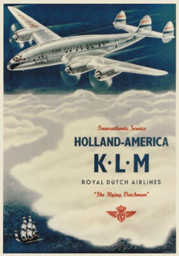 KLM ~ Transatlantic Service ~ Holland - America