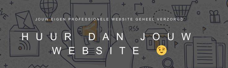 Huur jouw eigen website voor een vast bedrag per maand.  Volledige ondersteuning van je website, inclusief onderhoud, webhosting, domeinnaam & SSL certificaat bescherming.   En we helpen je met je zoekmachine optimalisatie, zoekmachine advertenties, social media marketing of affiliate marketing.  Hebben we je interesse gewekt? Neem dan vrijblijvend contact op met Huur Een Site :)