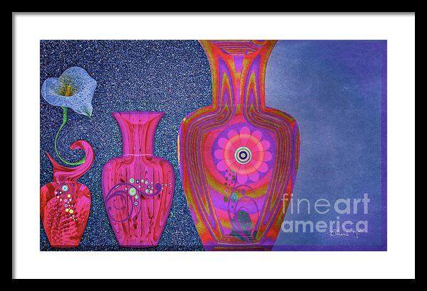 Flower Power Framed Print By Eleni Mac Synodinos