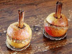 Mele al forno alla cannella ripiene - ricetta facile  veloce e super golosa