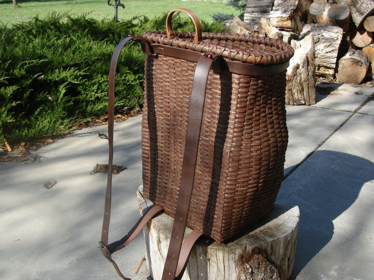 Basket Making Tools Supplies : Image gallery trappers bucket