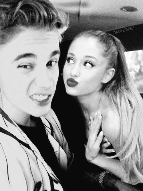 Ariana and justin