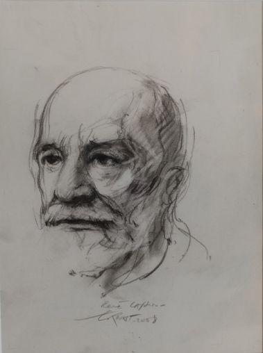 Ernest Pignon-Ernest, René Cassin