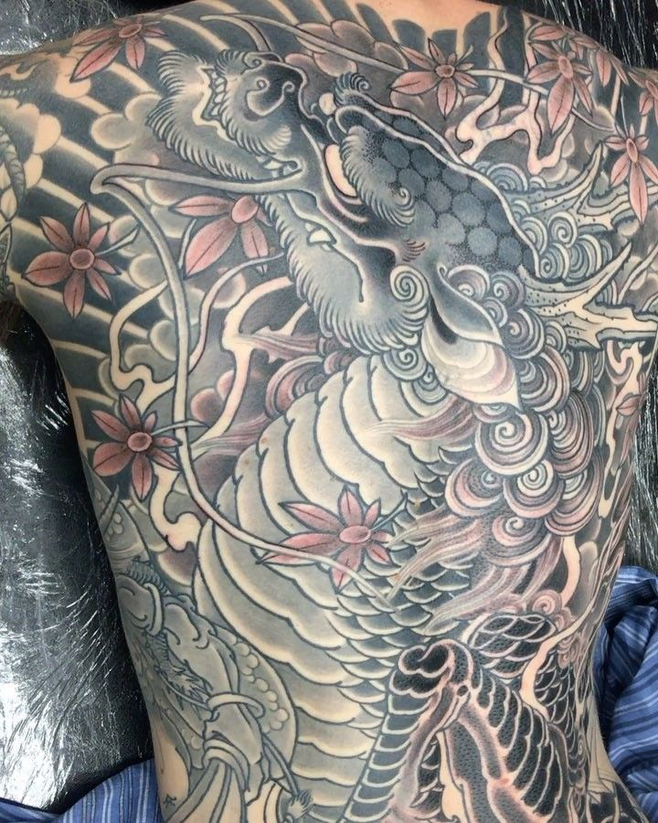 GREY X GHOST Japanese tattoo, Irezumi tattoos, Tattoos