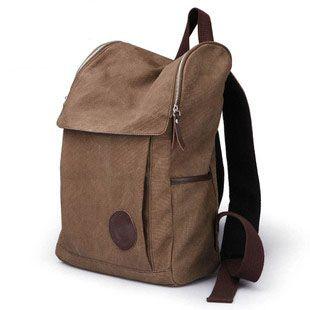 Student school bag backpack man bag female preppy style travel bag canvas laptop bag