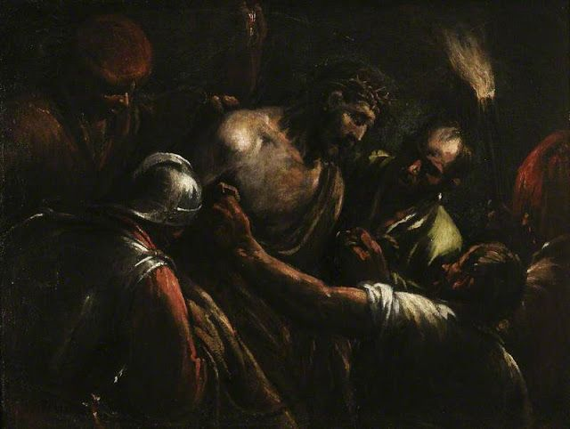 Ο Χριστός στεφανωμένος με αγκάθια (1590)