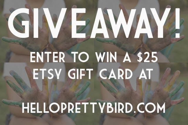 Indie Friday, Giveaway Edition: Win an Etsy gift card! (International) | Hello Pretty Bird! - A beauty and not-so-glamorous lifestyle blog