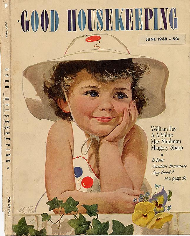 Good Housekeeping: Best 459 VINTAGE MAGAZINE COVER~ART Images On Pinterest