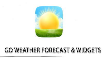 Image: application -Go Weather Forecast and Widgets