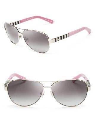 kate spade new york Dalia Aviator Sunglasses | Bloomingdale's