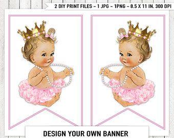 Bailarina de oro rosa Tutu perla bebé ducha por LegendImaging