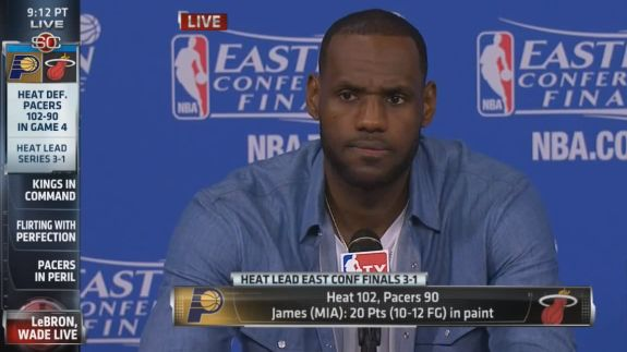 LeBron James Rebuts Paul George In His Post Game Press Conference (VIDEO)