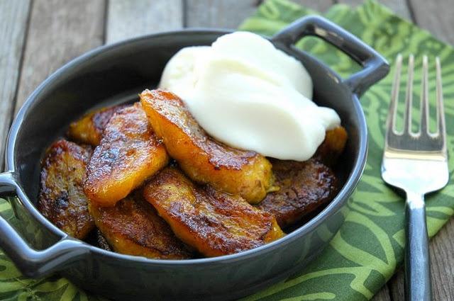 Fried Platanos Maduros~Sweet Plantains~ripe plantains are more black ...