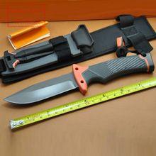 Caça Camping SURVIVAL faca fixa da lâmina facas de sobrevivência, Série completa faca e bainha(China (Mainland))