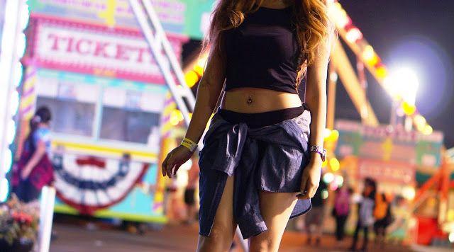 Alameda County Fair! Pleasanton, CA   modelvale #fair #alamedacountyfair #style #outfit