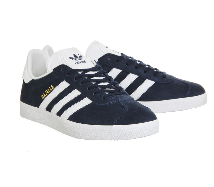 Adidas Gazelle Collegiate Navy White - His trainers
