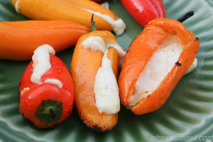 Sweet Basil: Cheesy Grilled Peppers: Low Carb, Recipe, Sweet Basil, Cheesy Grilled, South Beaches Diet, Grilled Peppers, 4Th Of July, Diet Phases, Stuffed Peppers