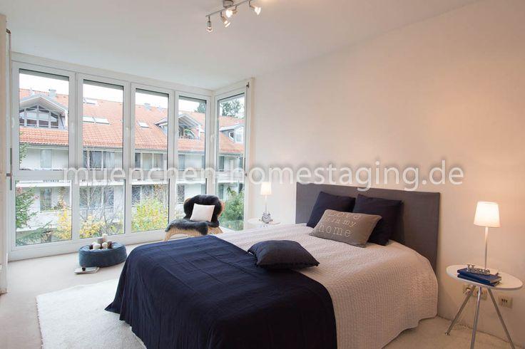 Home Staging - gemütliches Schlafzimmer