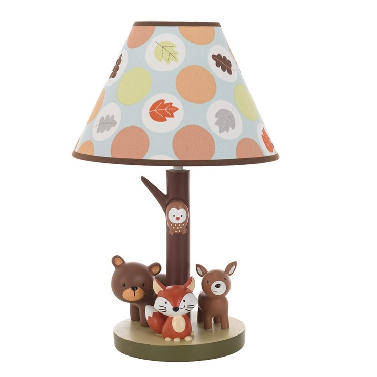 Forest Friends Lamp Base with Shade 377755715 | Lighting | Neutral Nursery Decor | Nursery Room Decor | Baby | Burlington Coat Factory