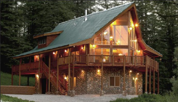 17 best images about log home floor plans on pinterest for Alpine home designs