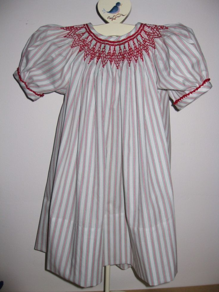 A Smocked Christmas Dress - part of our inspiration gallery.
