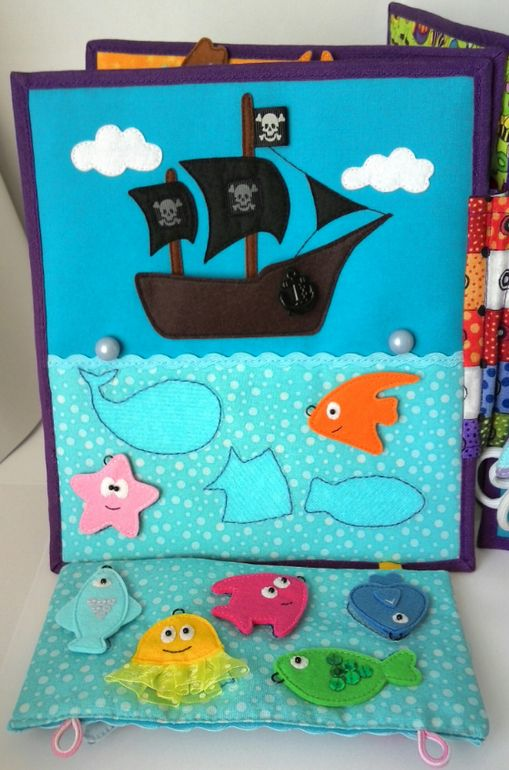 Quite Book: The pirate ship is done well.