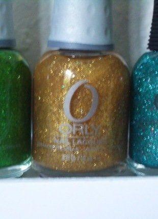 Kaufe meinen Artikel bei #Kleiderkreisel http://www.kleiderkreisel.de/kosmetik/hand-and-nagelpflege-kosmetik/148773369-orly-nagellack-glitter-grun-gold-petrol-hologramm-neu