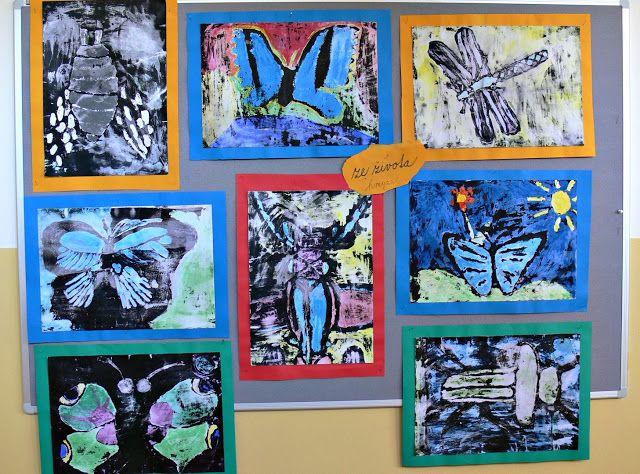 Tvoříme s dětmi  ☺: Ze života hmyzu.....