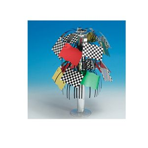 20261584 - Race Foil Mini Centerpiece. Please note: approx. 14 day delivery time. www.facebook.com/popitinaboxbusiness