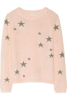 Star-intarsia cashmere sweater | sheerluxe.com