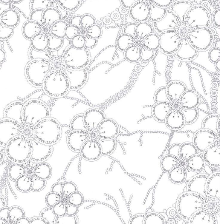 Výsledok vyhľadávania obrázkov pre dopyt antistresová omaľovánka kvety