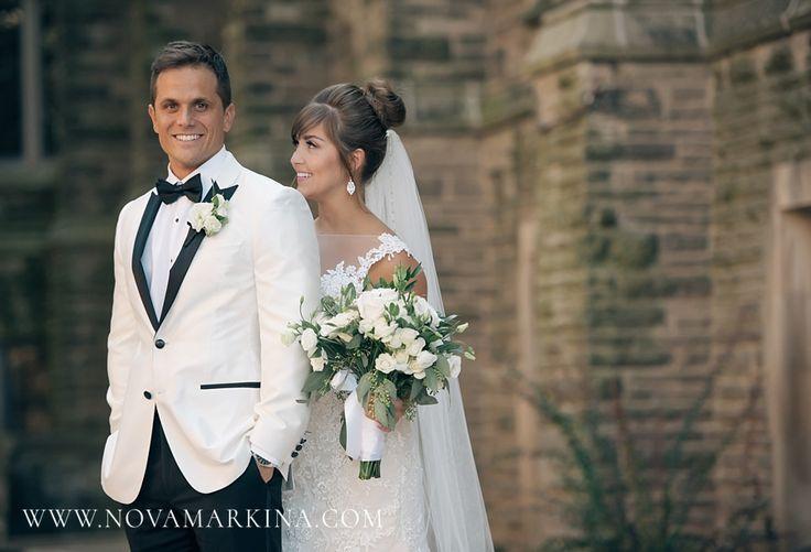 Adoring Bride || Wedding Day Portrait Inspiration || NovaMarkina Photography || See more of this Liuna Station Wedding here: http://www.novamarkina.com/blog/liuna-station-wedding-photography-k-a